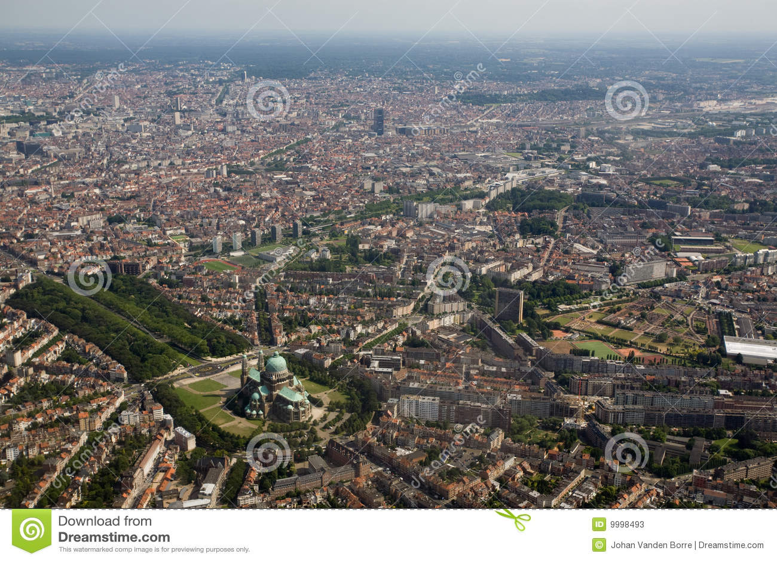 Au-dessus de Bruxelles