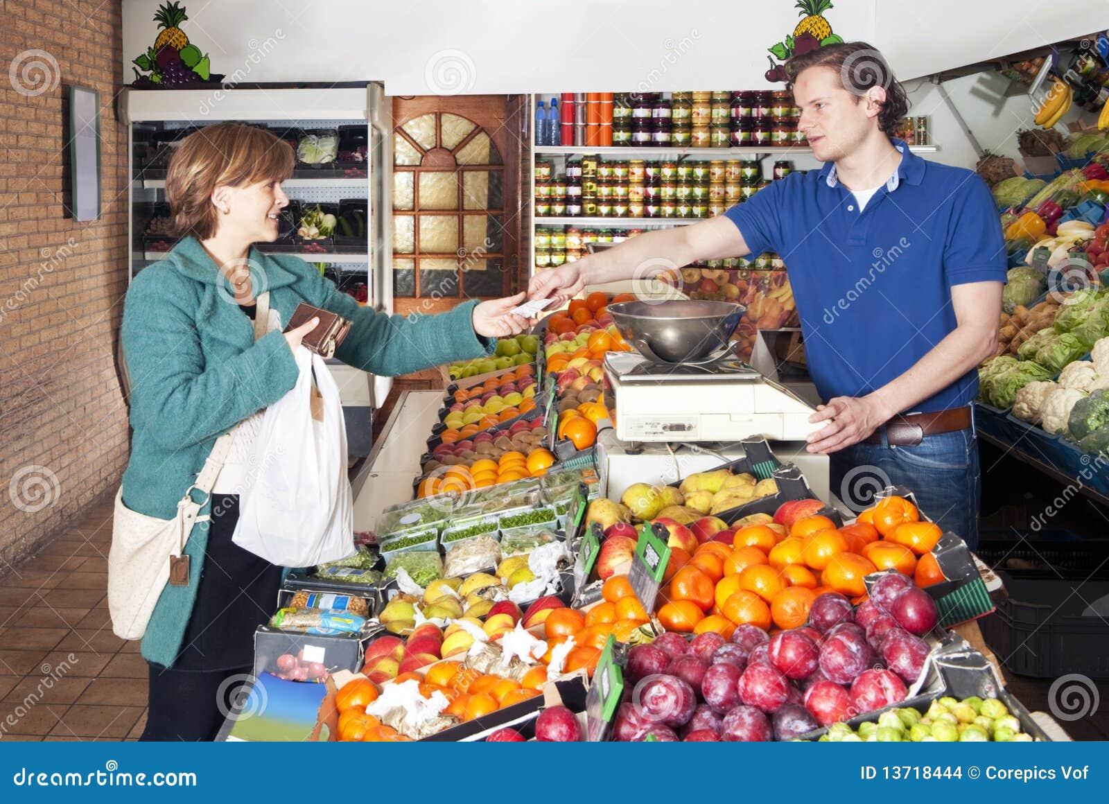 Au marchand de légumes