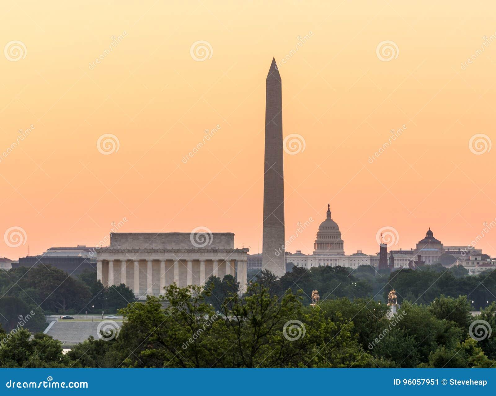 Aube de cotillon néerlandais de Washington DC