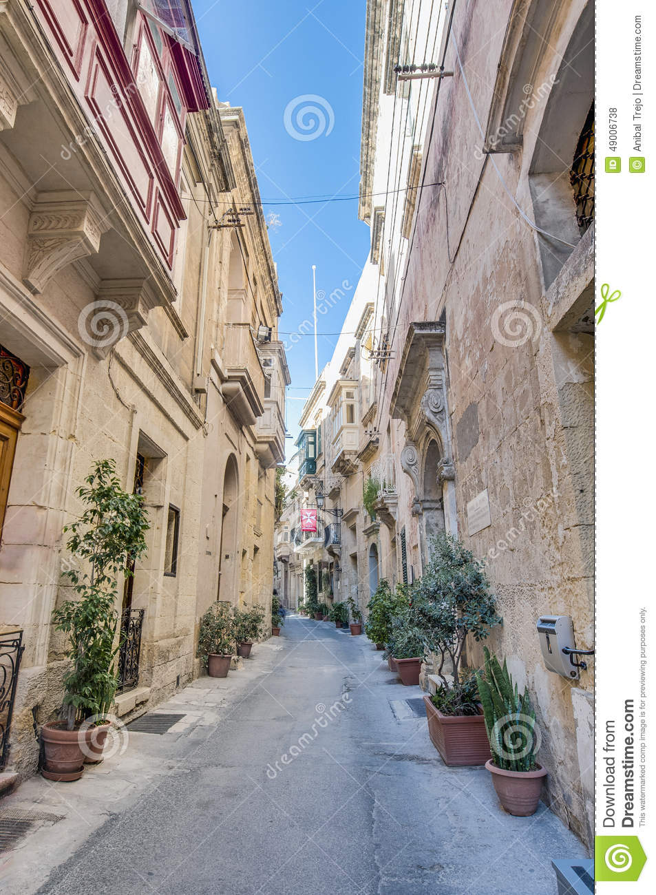 Auberge De France In Vittoriosa, Malta Editorial Stock Photo ...