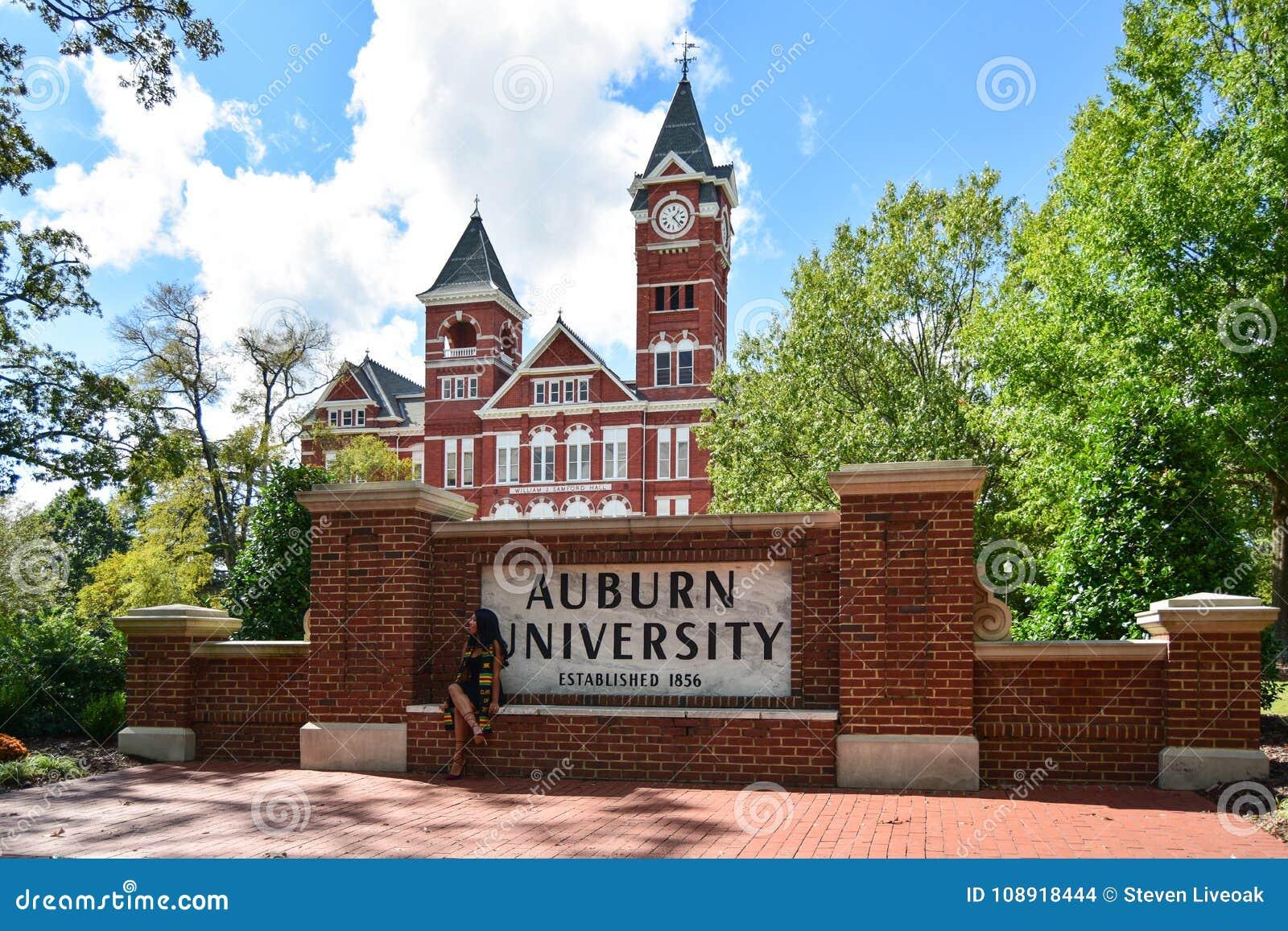 AUBURN, AL -OCTOBER 10,20 17: Auburn University Located In