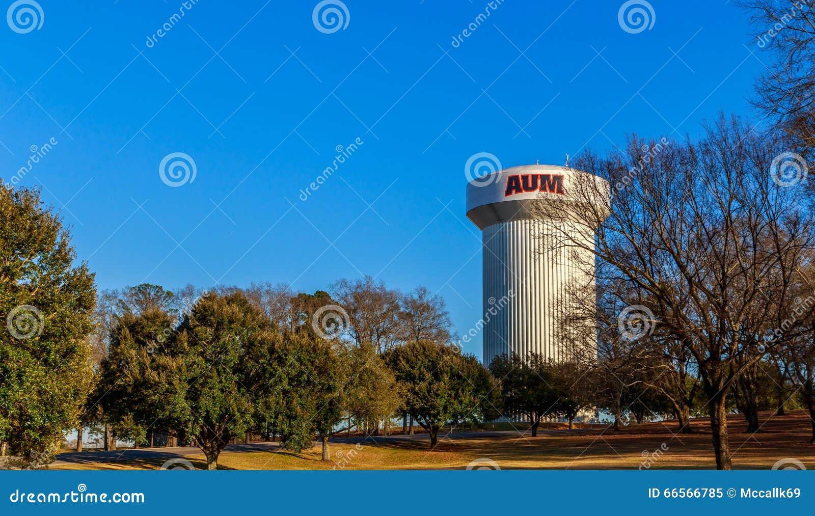 Auburn University Montgomery Water Tower in Alabama