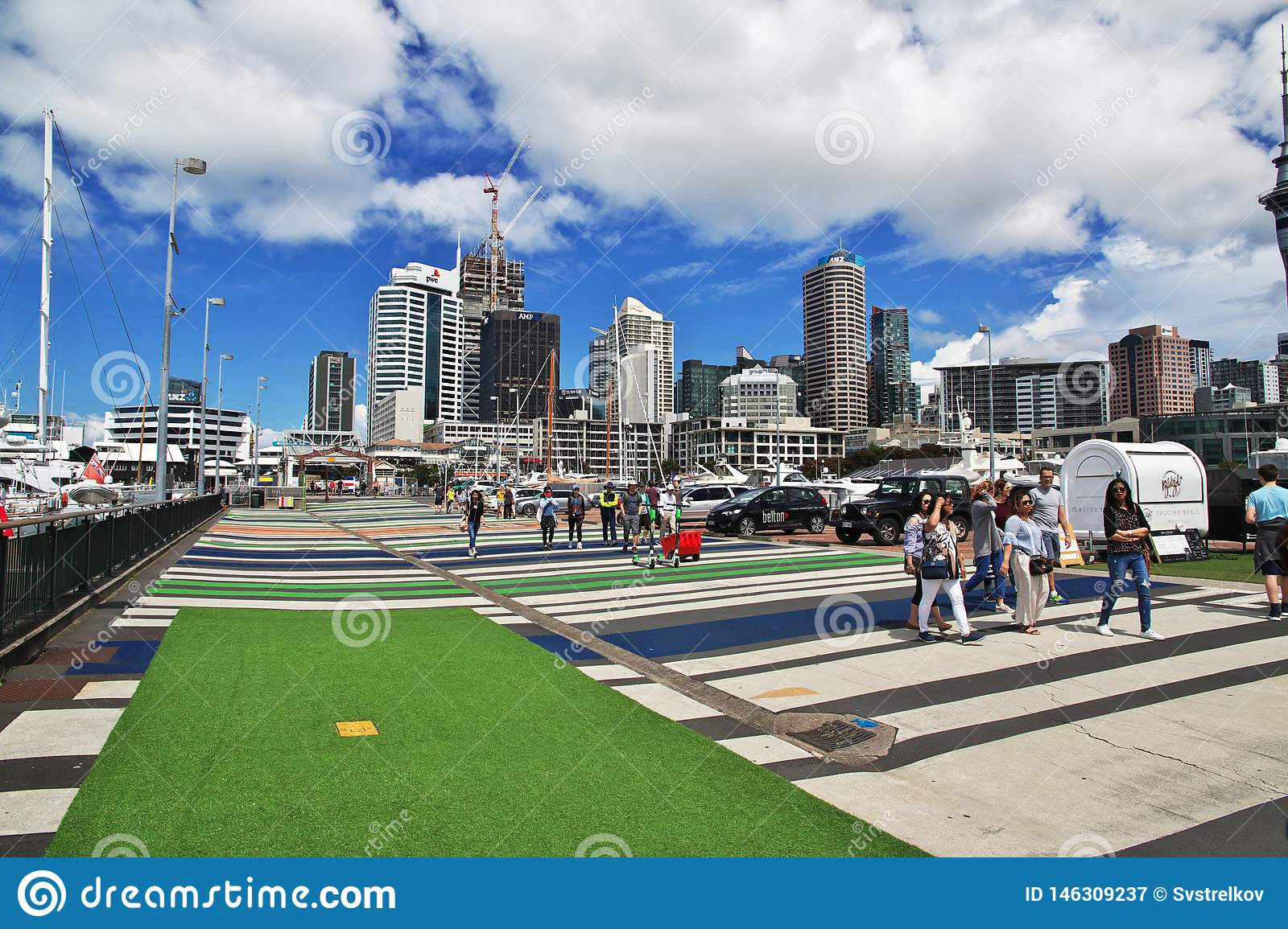 Auckland Is A Beautiful City In New Zealand Editorial Photography Image Of Harbourside Auckland 146309237