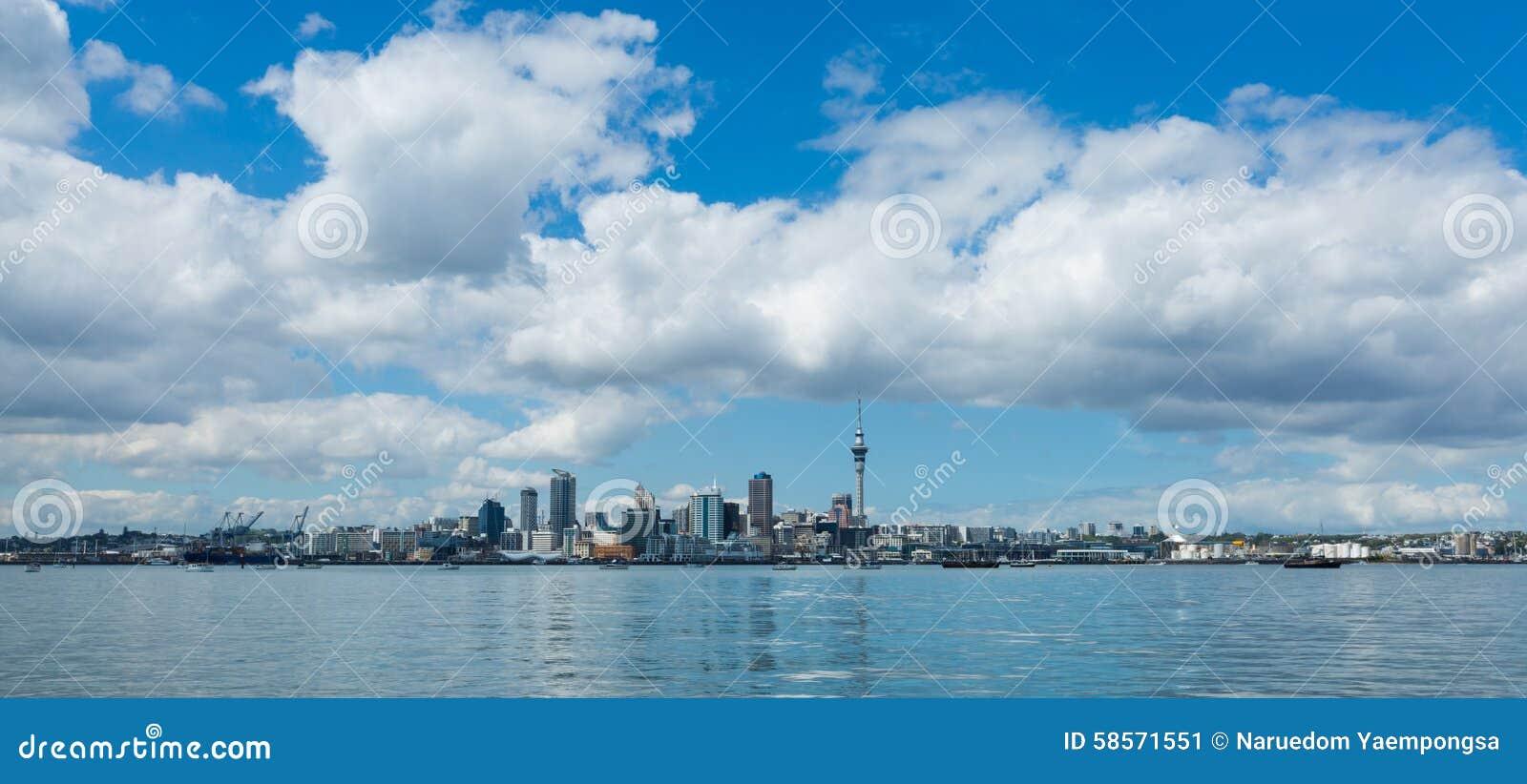 Auckland cityscape, North Island, New Zealand
