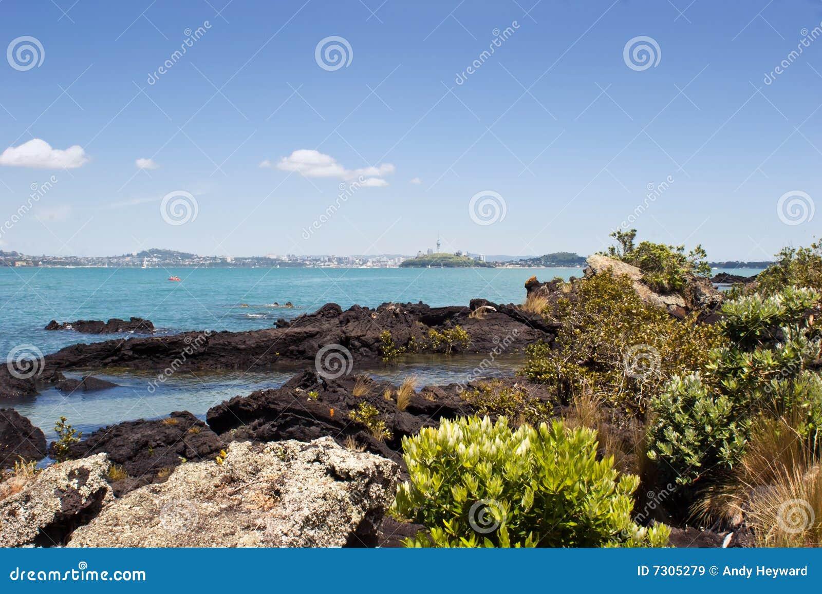 Auckland dall isola di Rangitoto