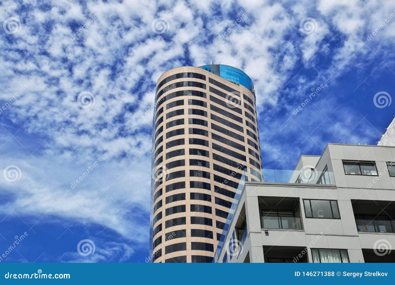 Auckland is een mooie stad in Nieuw Zeeland