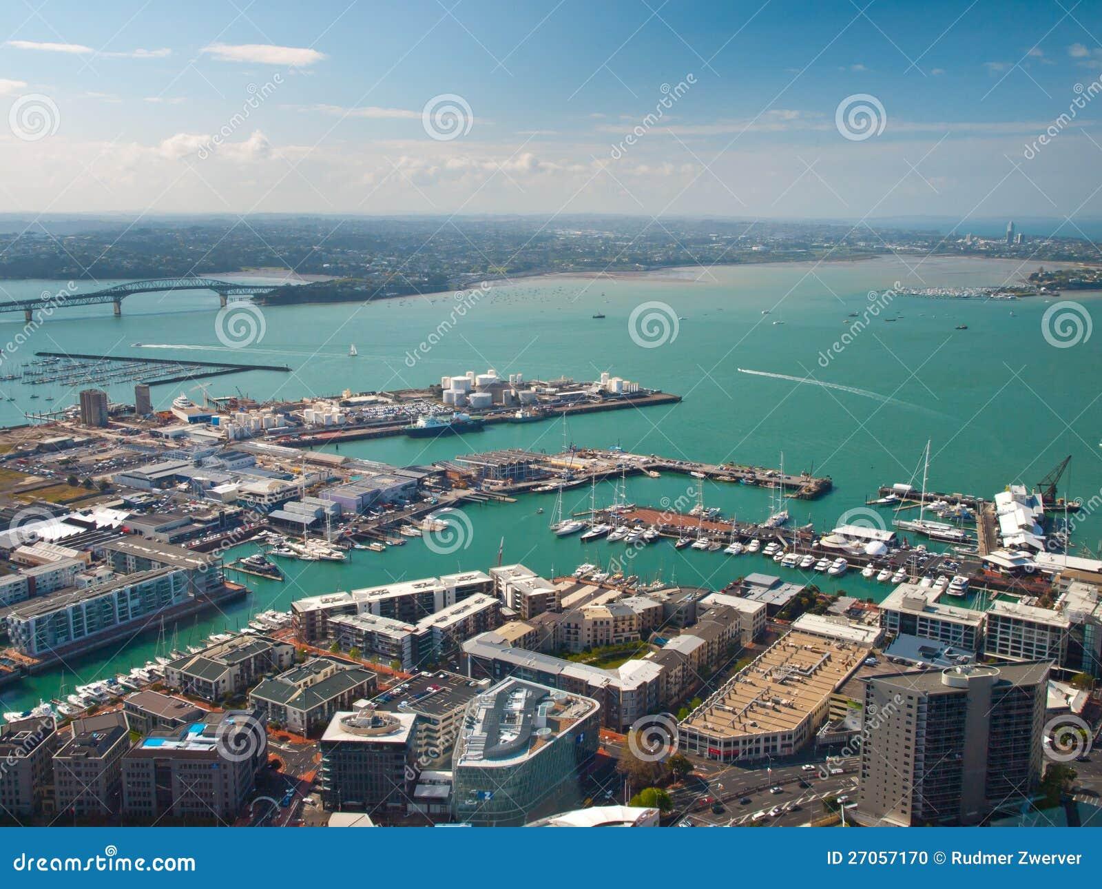 Auckland harbour