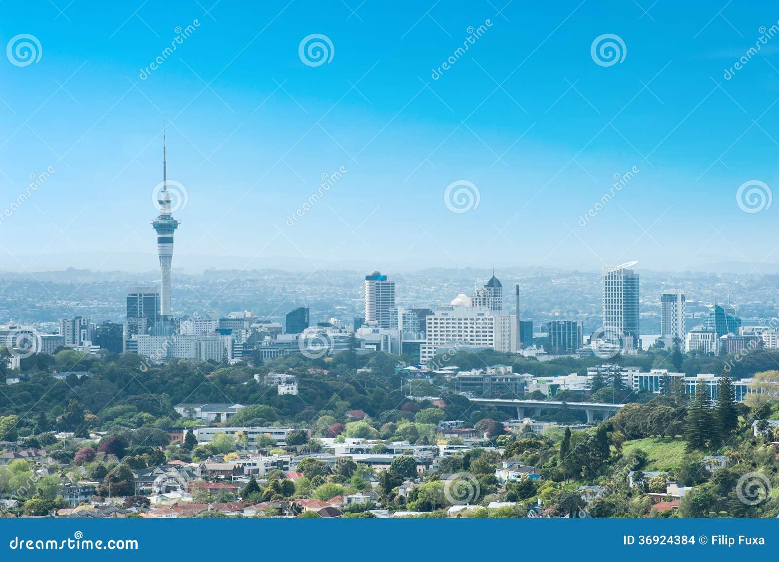 Auckland linia horyzontu