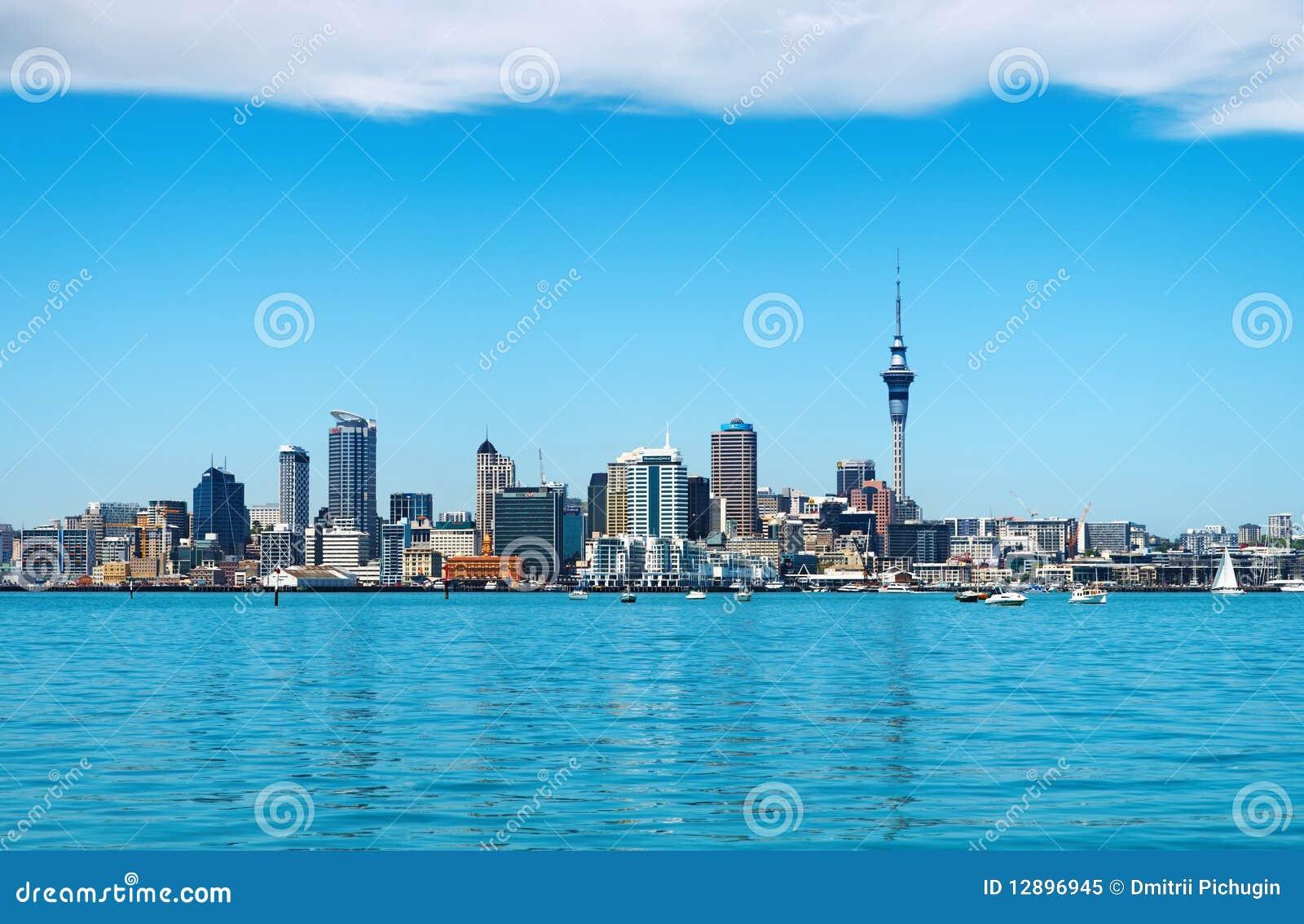 Auckland miasto nowy Zealand