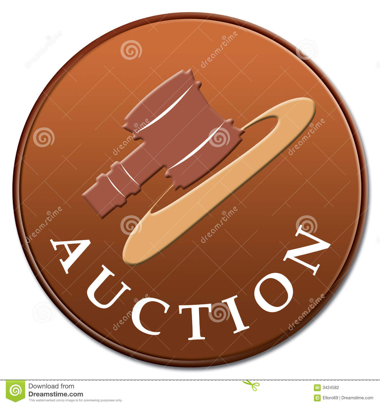 Auction icon stock photo. Image of auctioneer, order ...