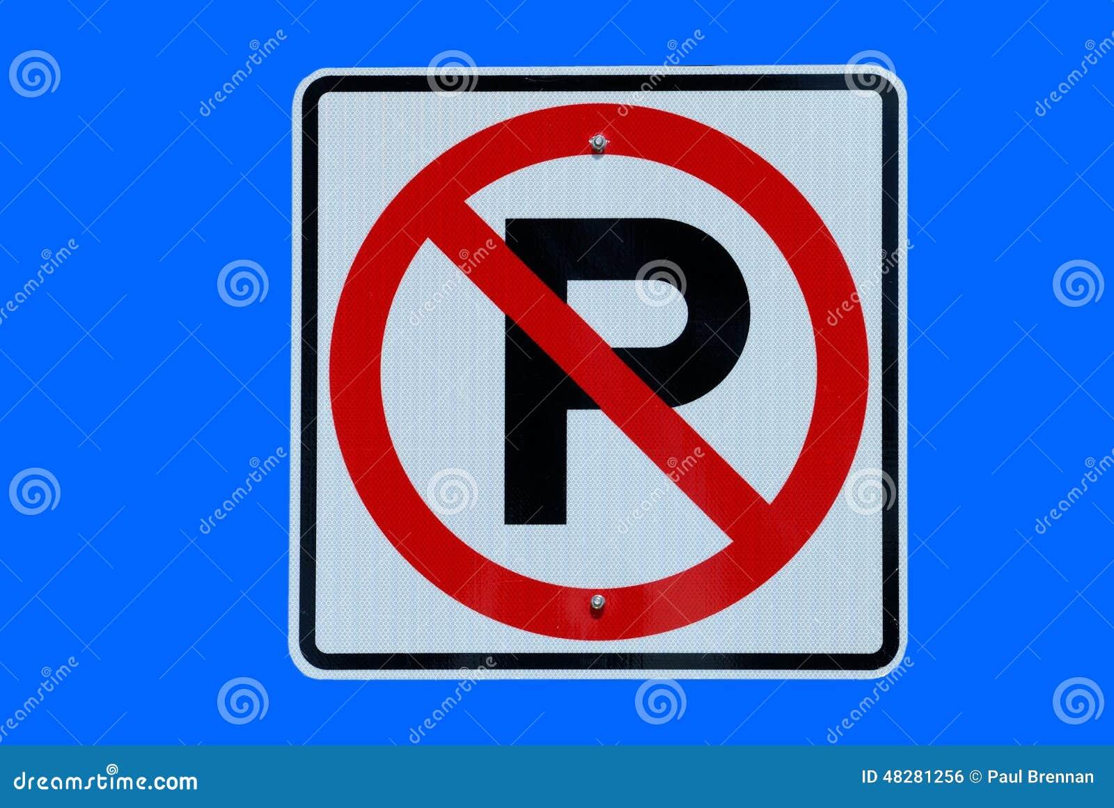Aucun signe de stationnement