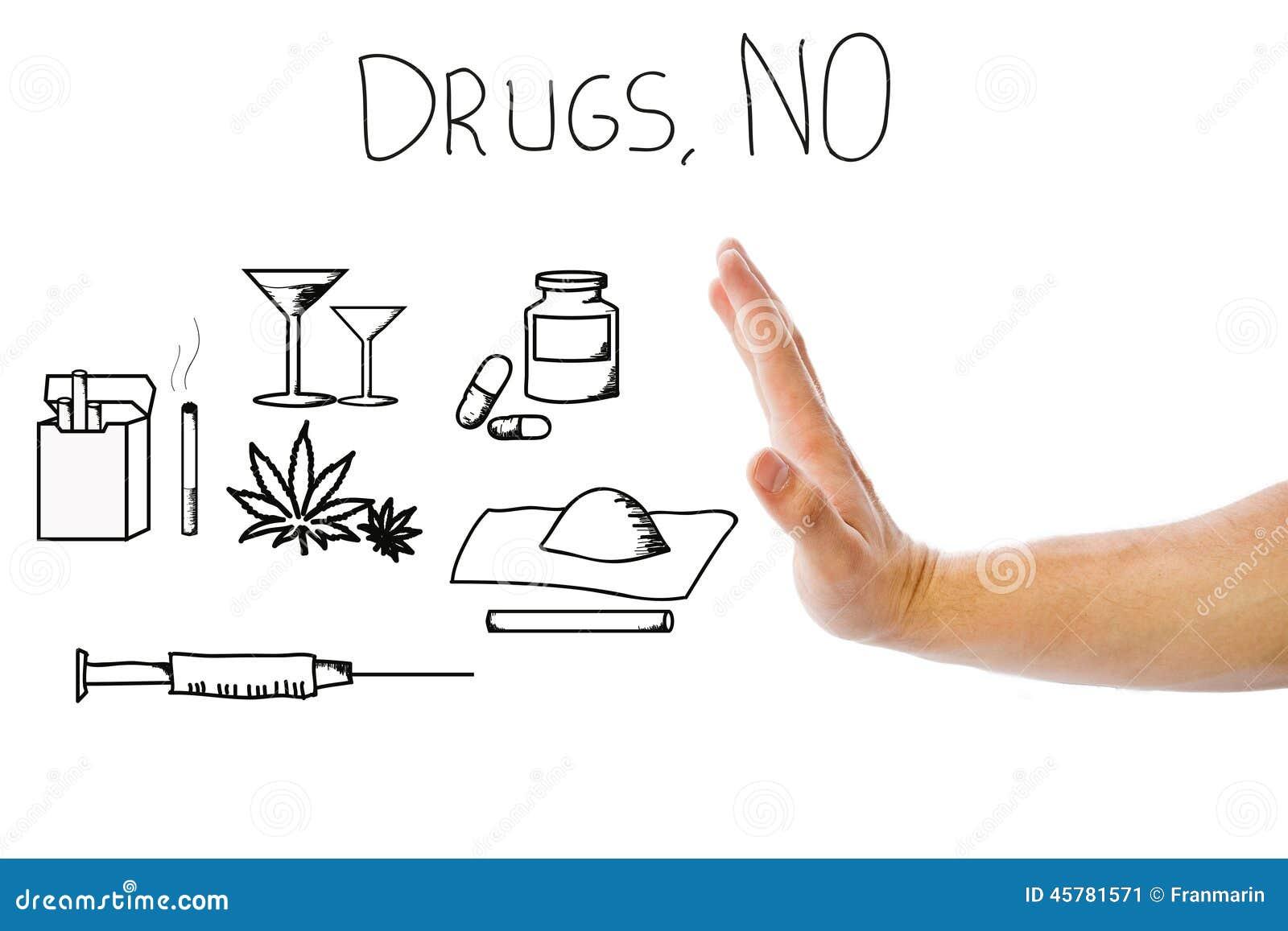 Aucunes drogues