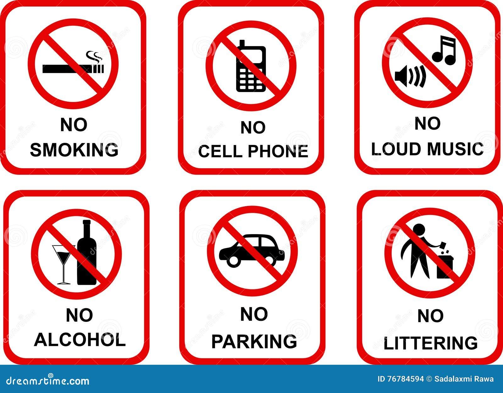 Aucunes icônes de signe