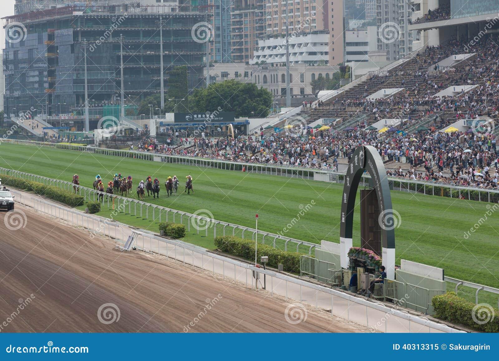 Sha Tin Racecourse Queen Elizabeth Ii Cup Editorial