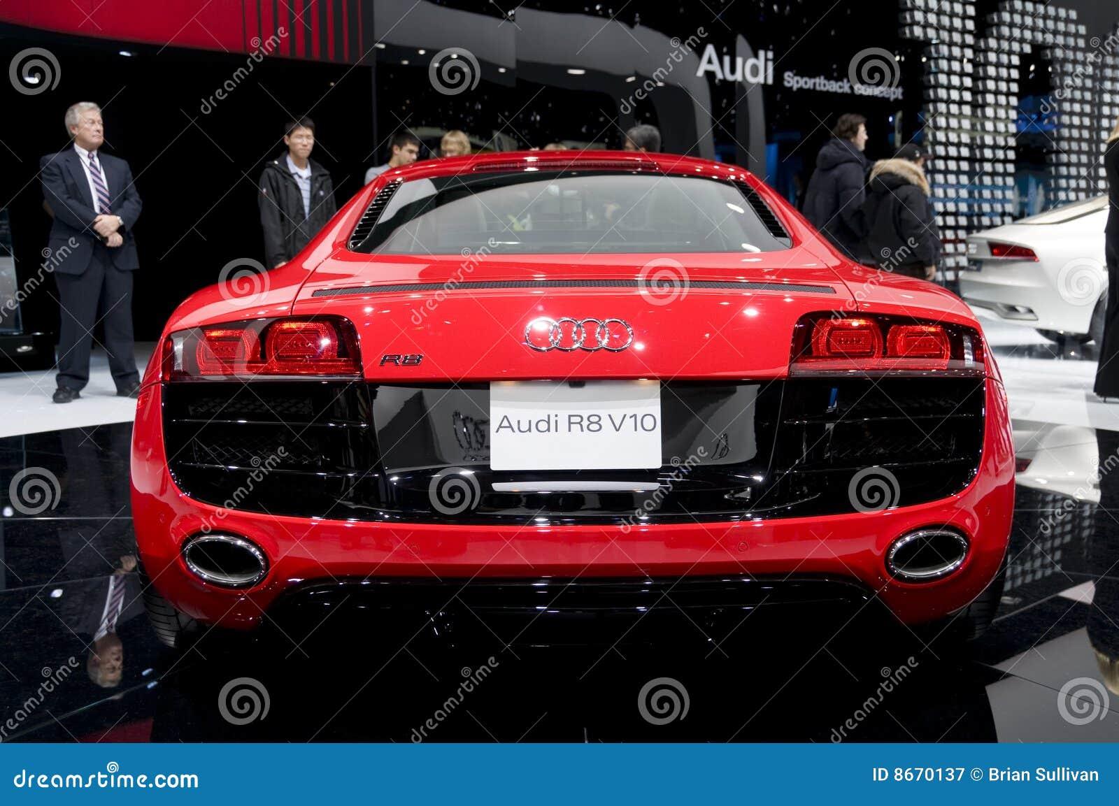 Audi 2009 R8 - arrière