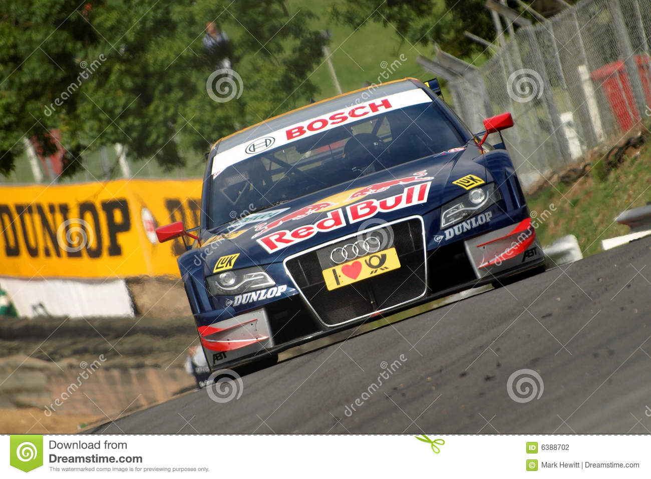 Audi A4 Dtm Race Car Editorial Photography Image Of Crest 6388702