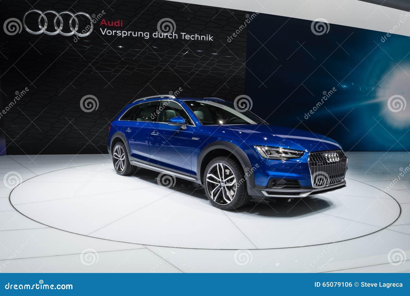 2016 Audi A4 Allroad Quattro Editorial Photo - Image of ...