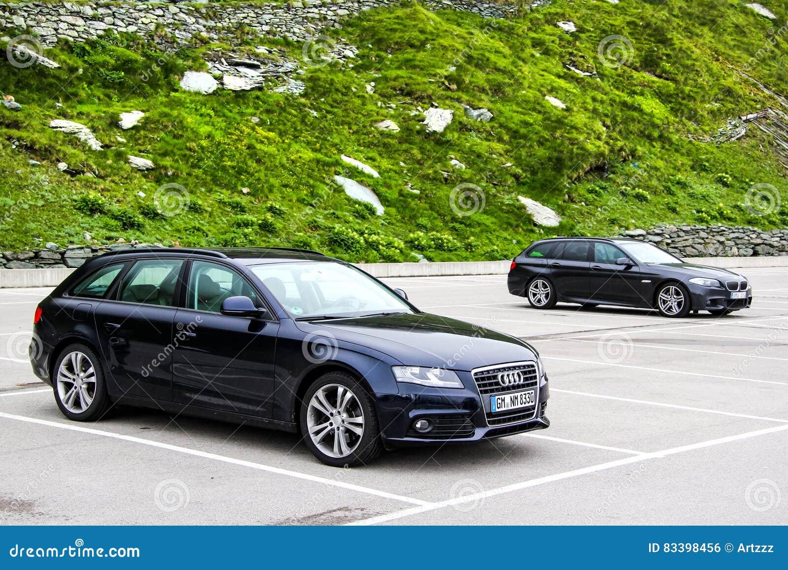Audi A4 Avant e BMW F11 5 serie di visita