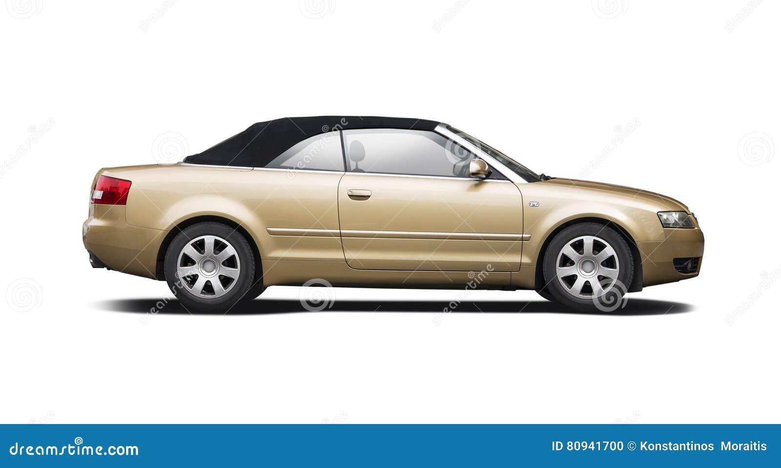 Audi A4 Cabrio Stock Photo Image Of Side View Auto 80941700