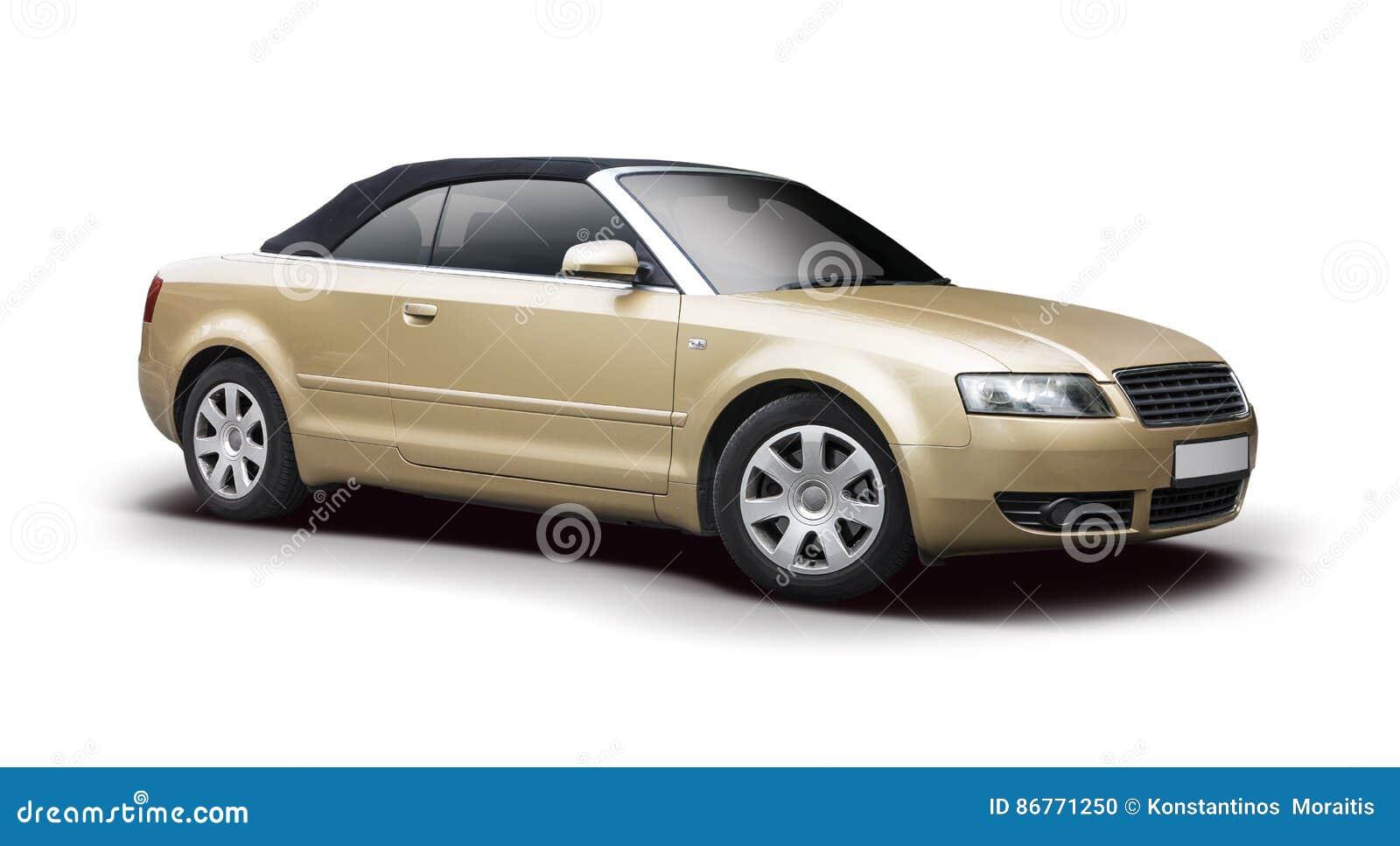 Audi A4 Cabrio Stock Photo Image Of View Isolated Cabrio 86771250