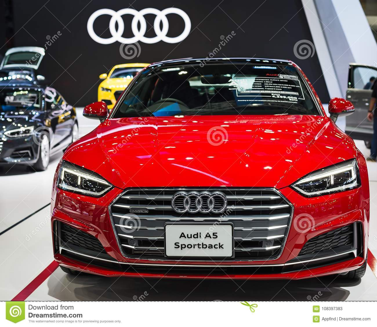 Audi A5 Car Editorial Stock Photo. Image Of Style