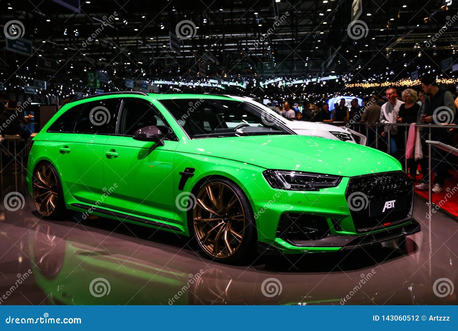 Audi A6 editorial photography  Image of brand, geneva - 143060512