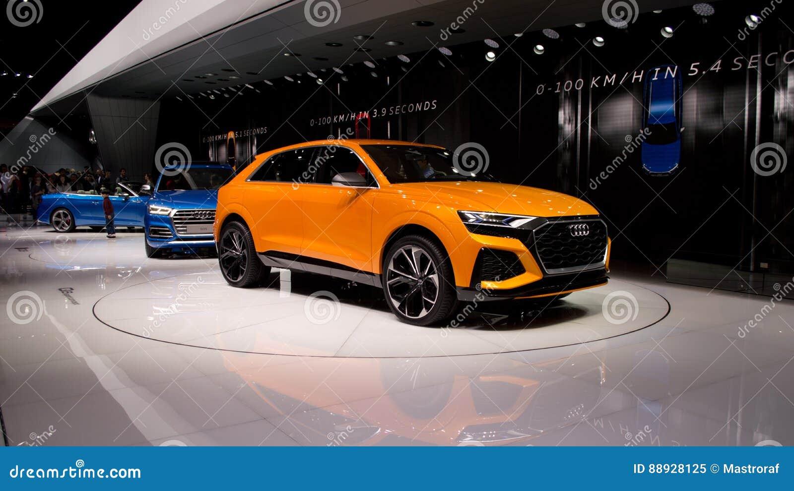 Audi Q8 at Geneva 2017