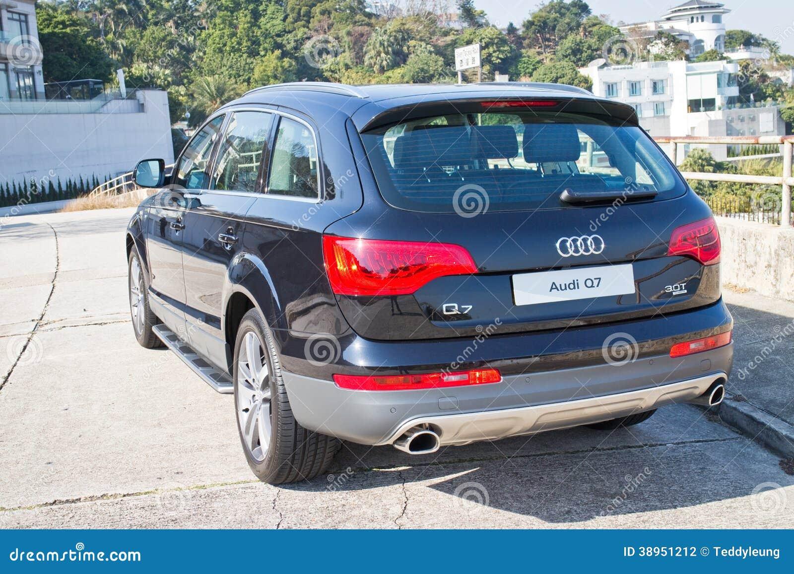 Audi Q7 3 0t Quattro 2014 Back Side Bumper Editorial Photography Image Of Transportation Motor 38951212