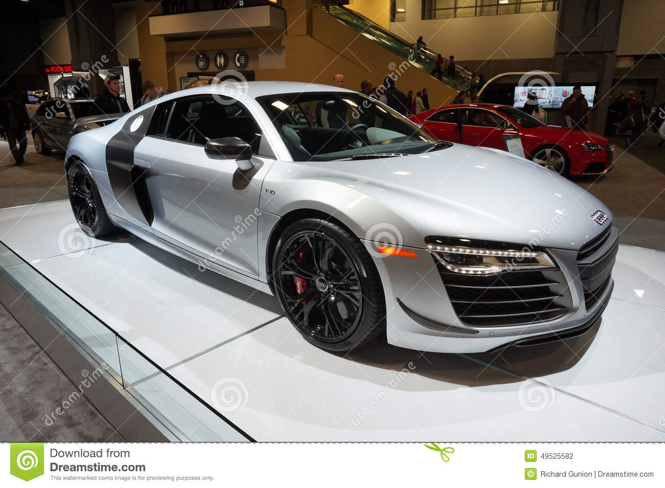2015 Audi R8 Coupe Editorial Photography Image Of Show 49525582
