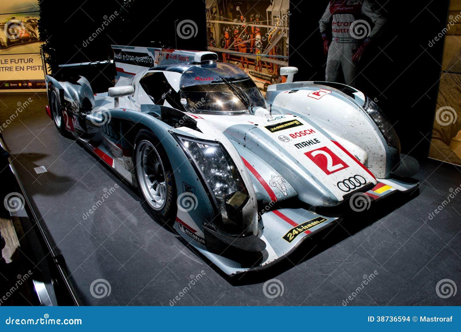 Audi r18 geneva 2014 editorial stock image image 38736594 - Salon de the le mans ...