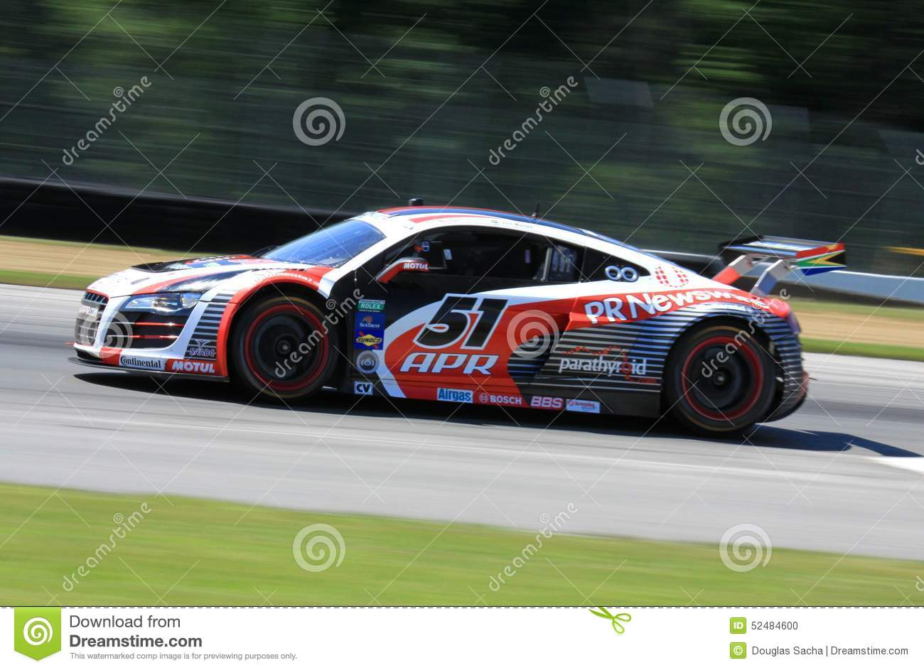 Audi Racing Car Editorial Image Image