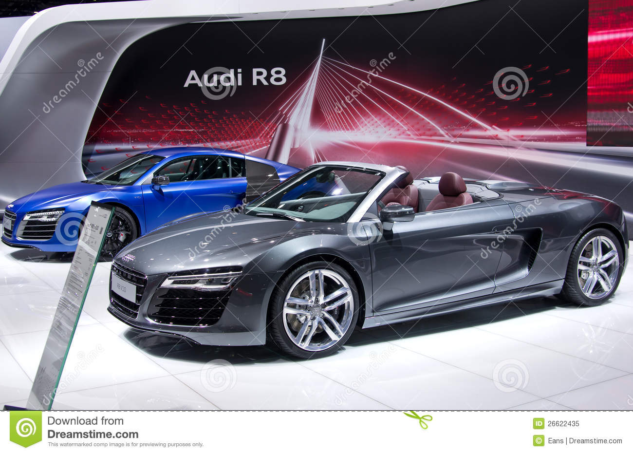 audi r8 cabrio editorial image image 26622435. Black Bedroom Furniture Sets. Home Design Ideas