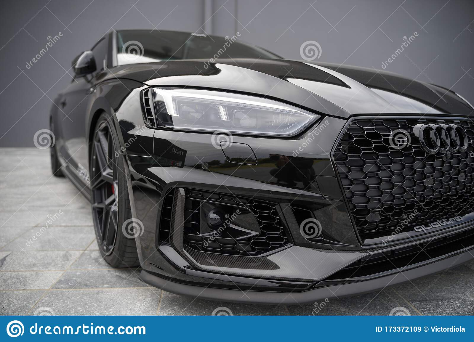 2018 Audi Rs 5 Coupe Editorial Stock Image Image Of Production 173372109