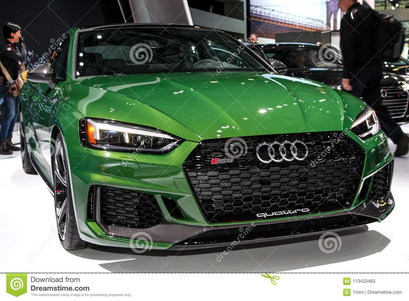 Audi RS Editorial Stock Photo Image Of Industry - Car show 2018 nyc