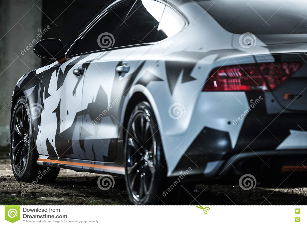 Audi S7 Tuning Stock Images