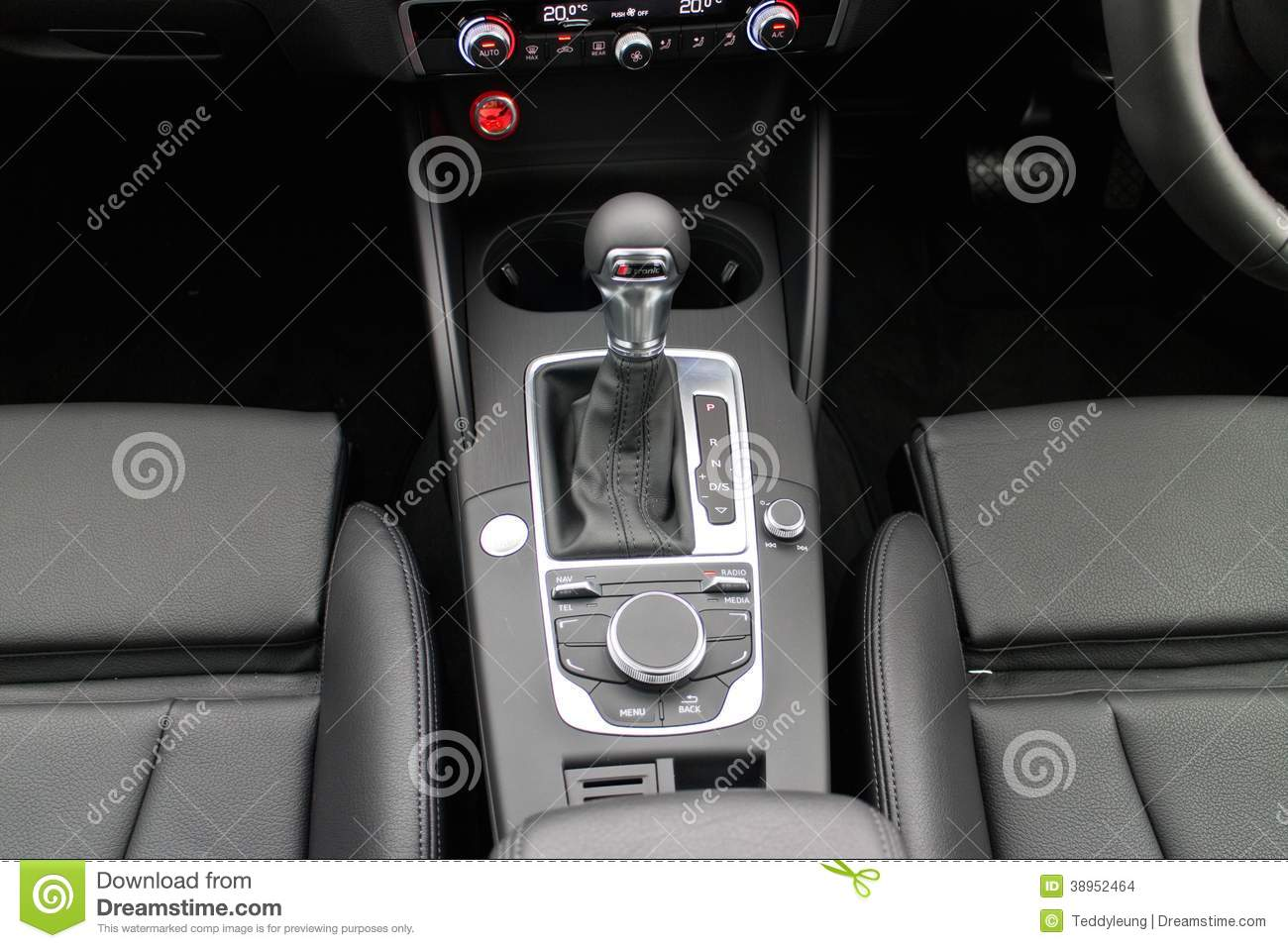 Audi A3 Sedan 2014 S Tronic Gearbox Editorial Stock Image Image Of