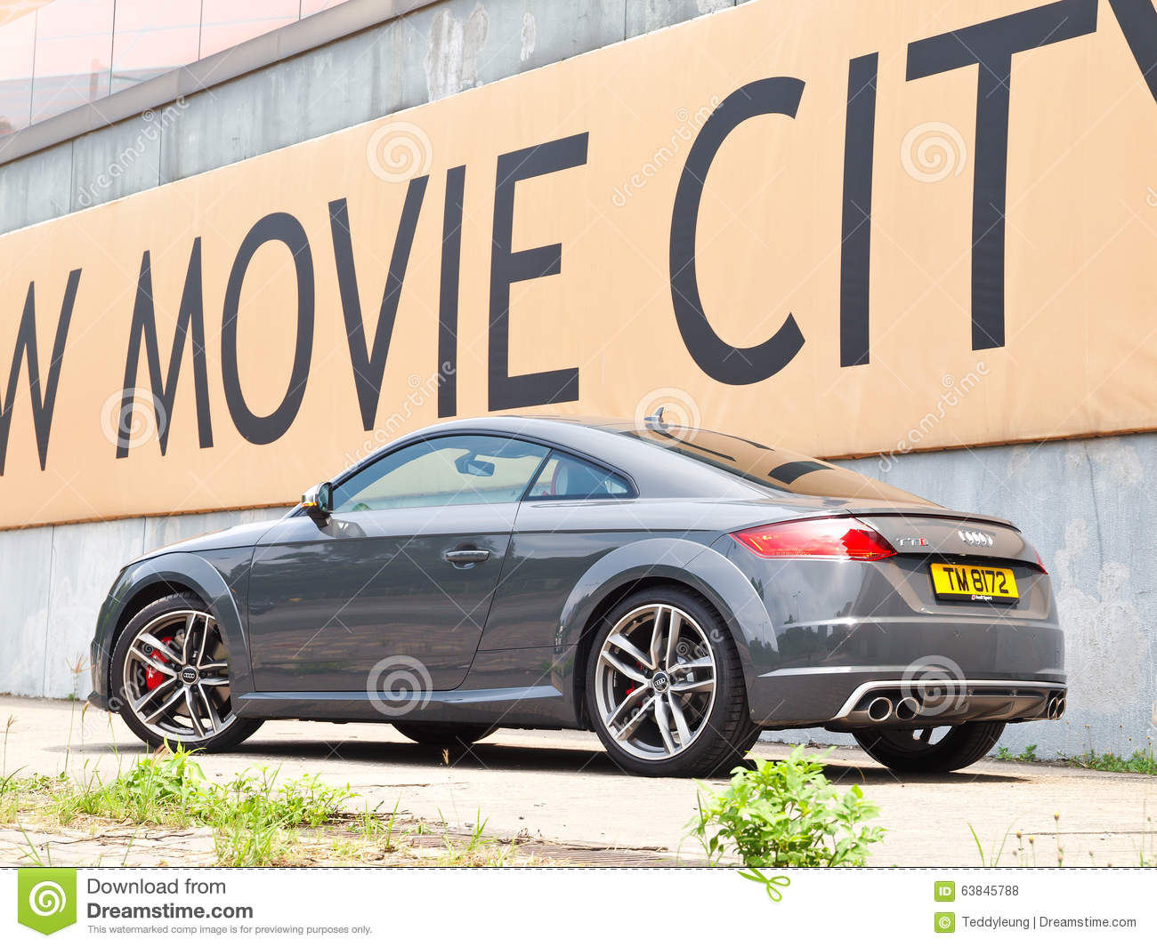 Audi TTS 2015 Test Drive Day Editorial Stock Photo - Image ...