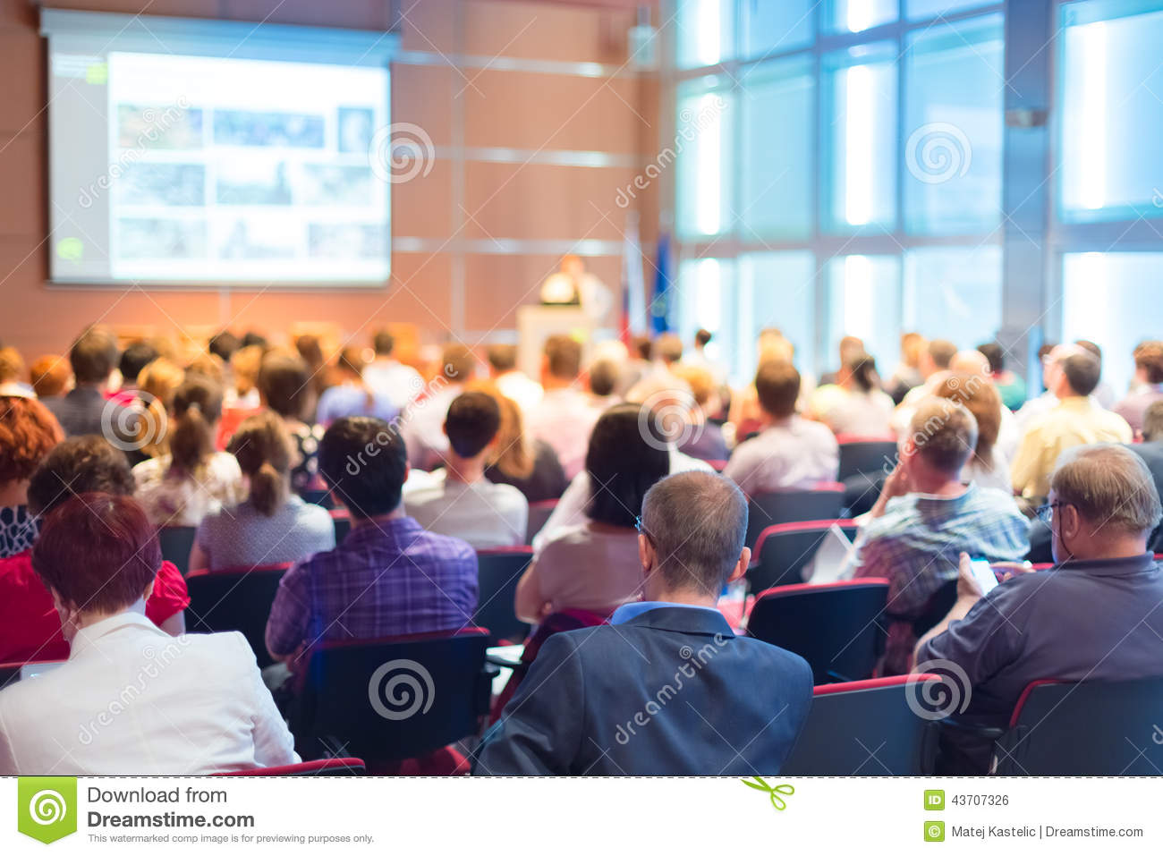 Audience At The Conference Hall Editorial Photo Image