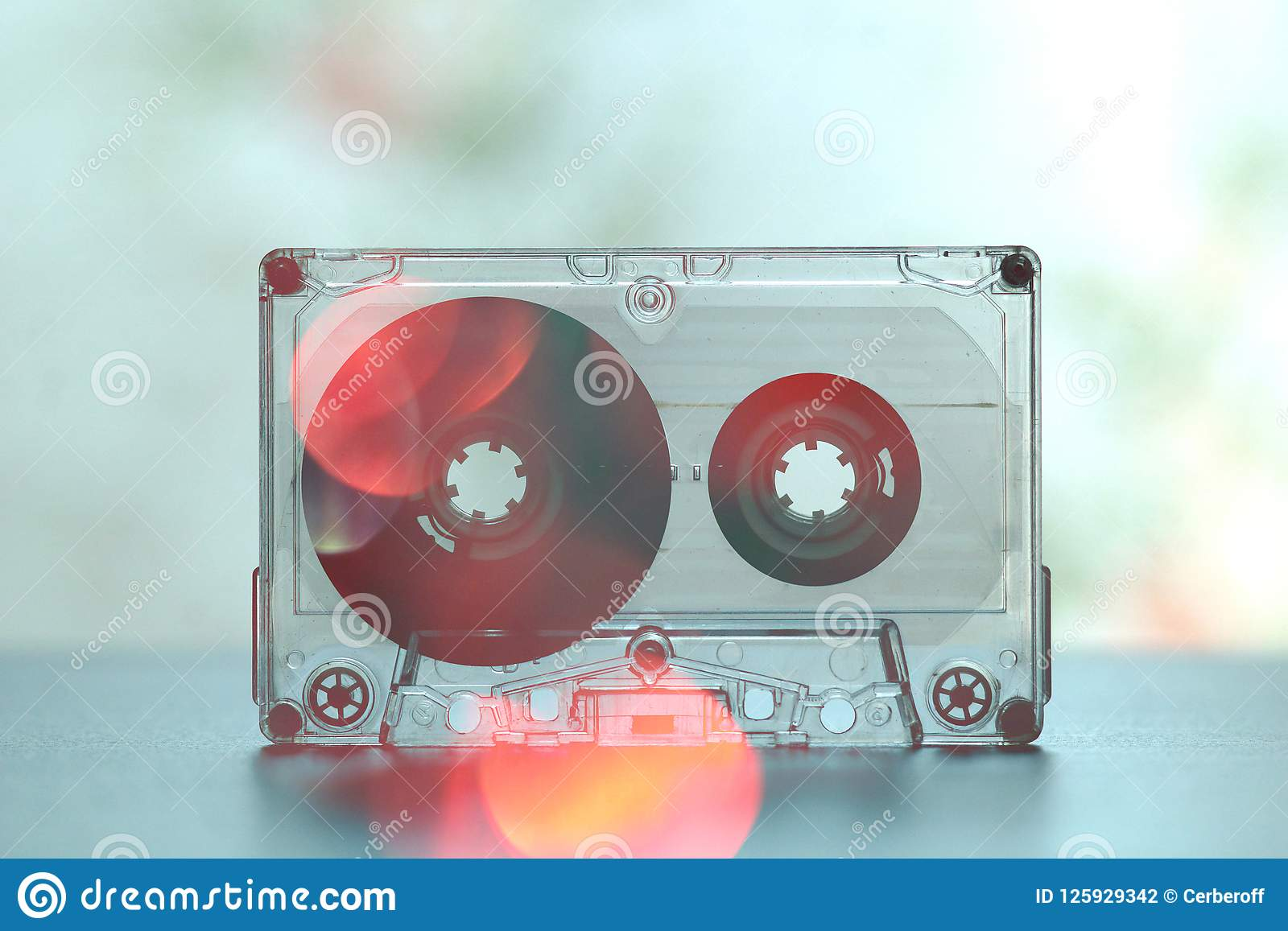 Audio Cassettes For Recorder Party Dance Vintage Stock Photo Image