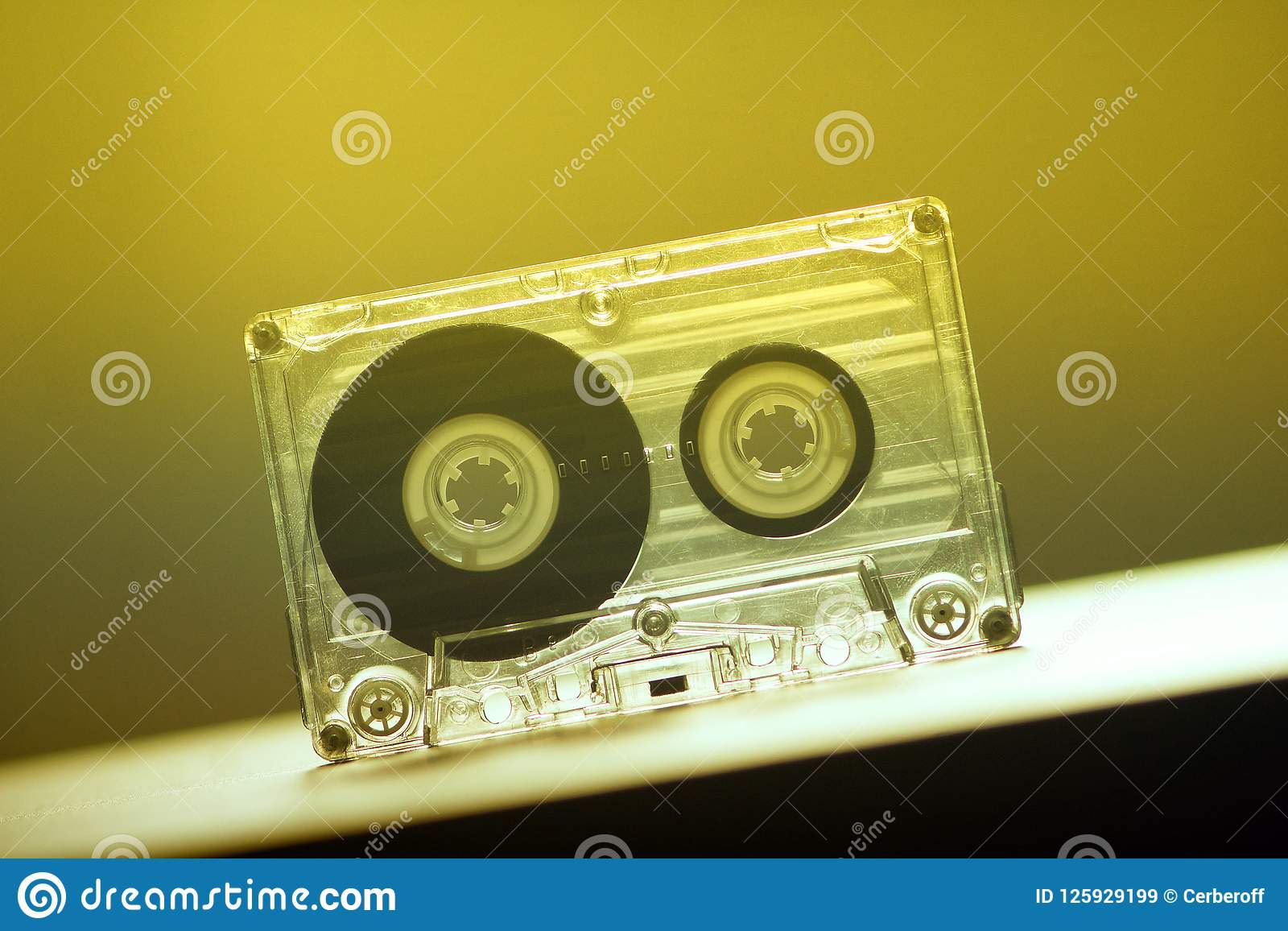 Audio Cassettes For Recorder Party Dance Vintage Stock Image Image