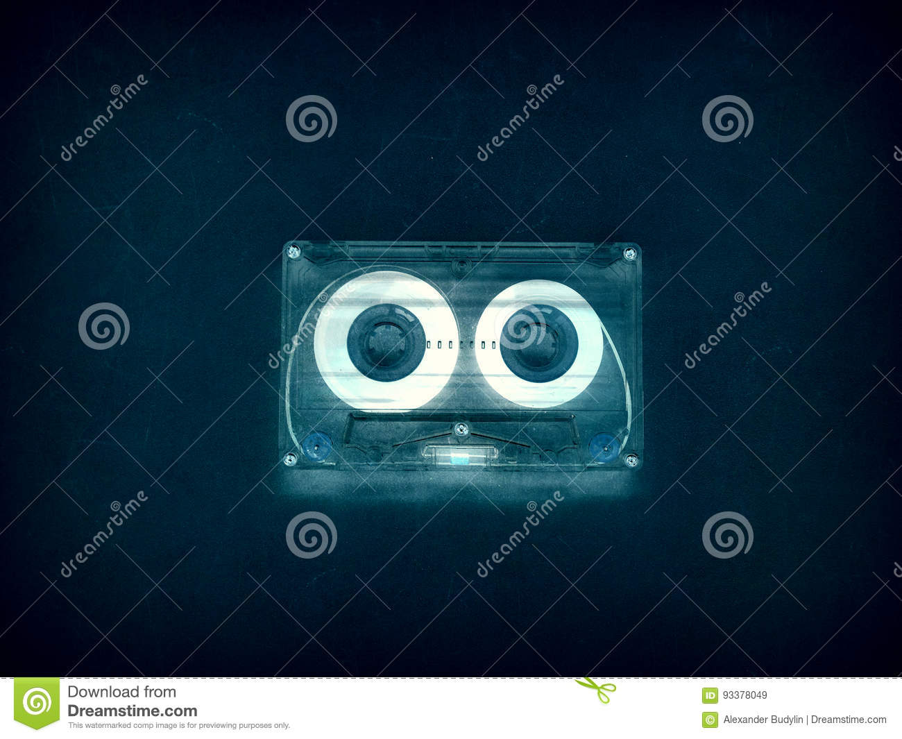 Audio Cassettes For Recorder Stock Image Image Of Melody Music