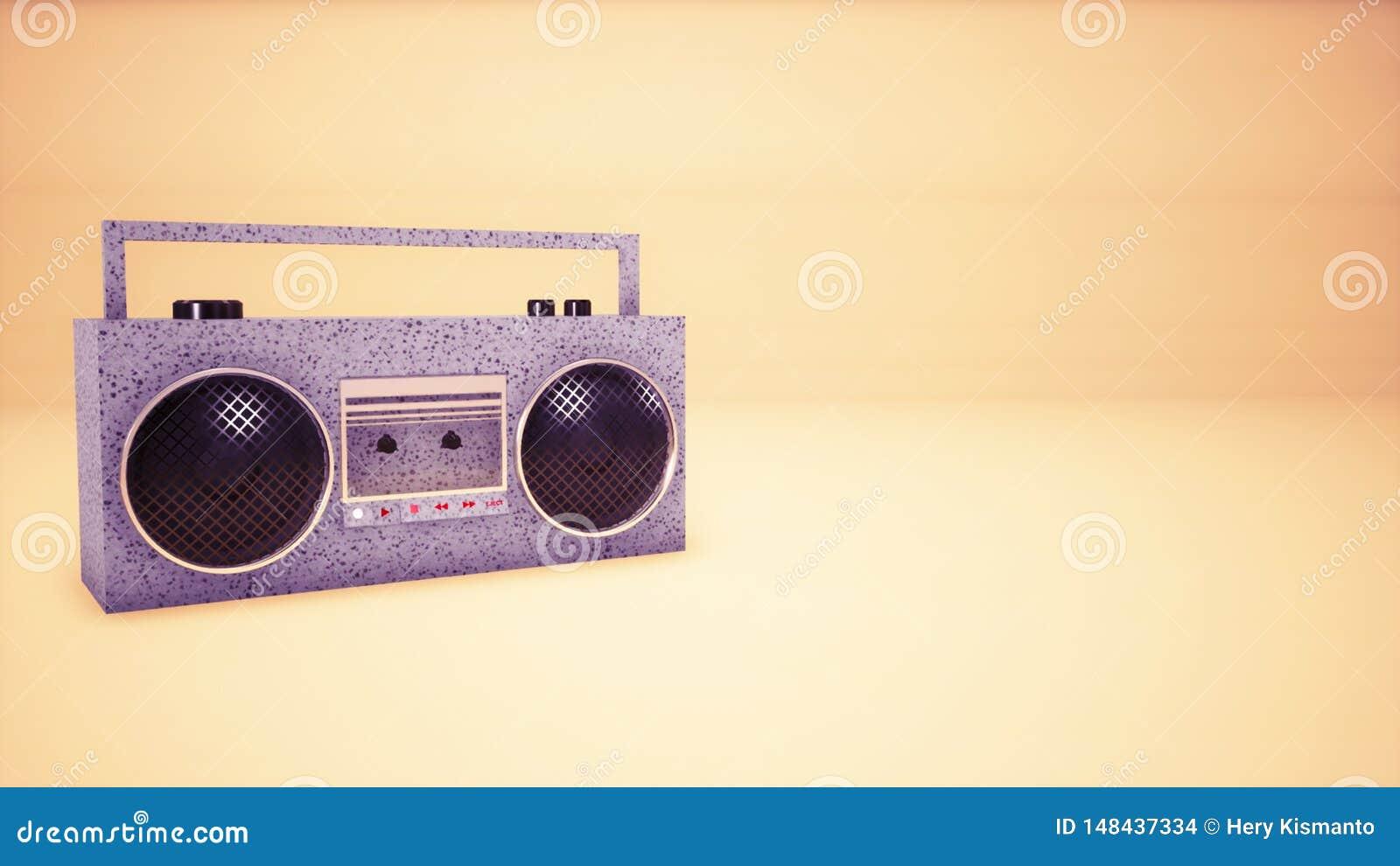 Audio fondo del nastro di musica 3D