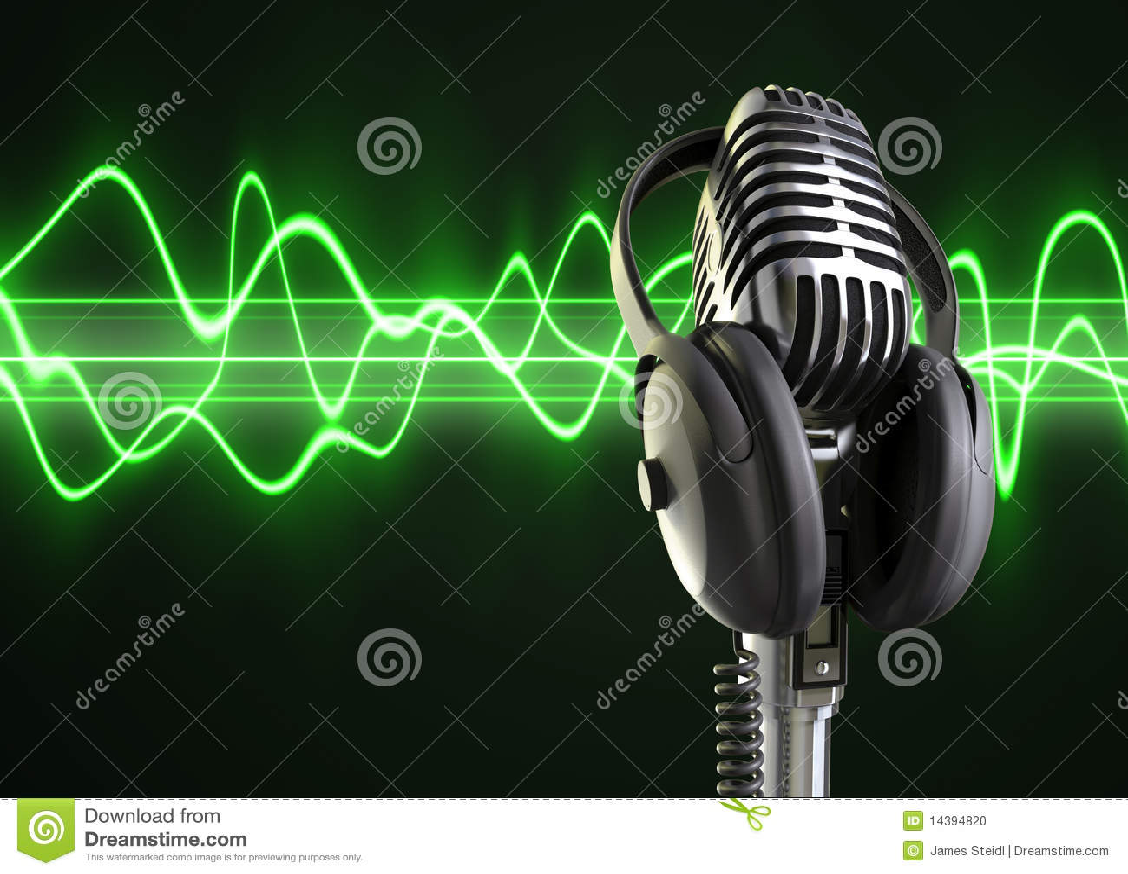 Audio Golven & Microfoon