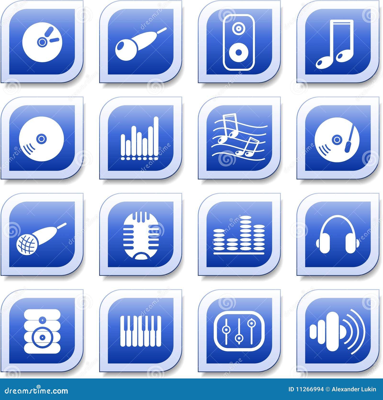 Audio ikony