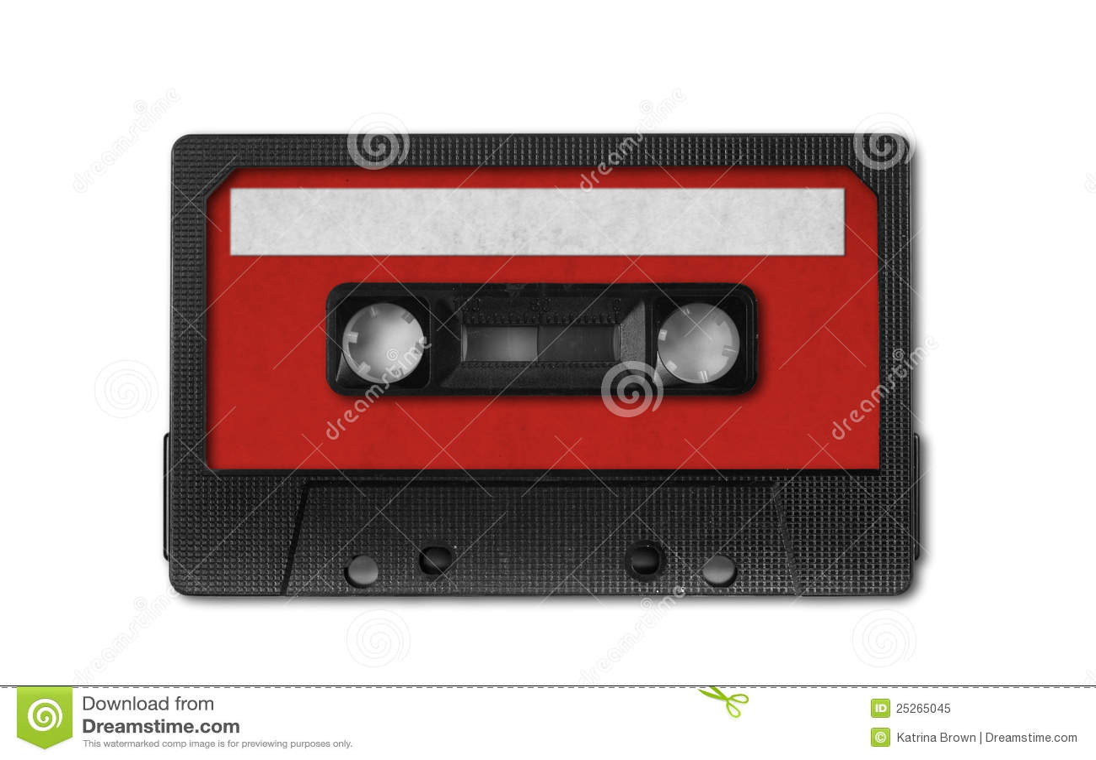 Audio kasety retro taśmy rocznik