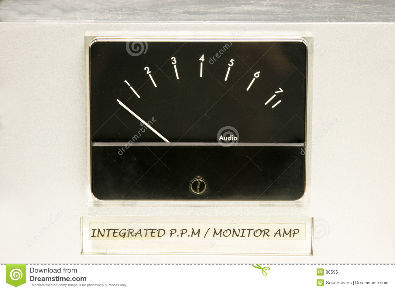 Audio Level Meter Stock Image Of Sound Match 80595 Distortion Download