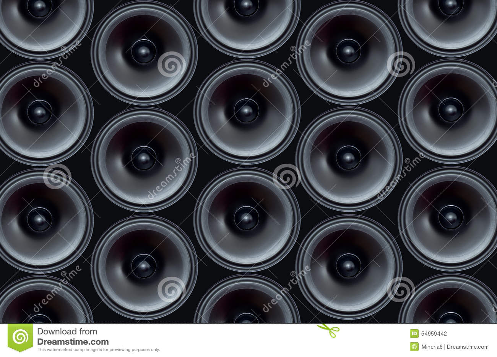 Audio-peaker Muster