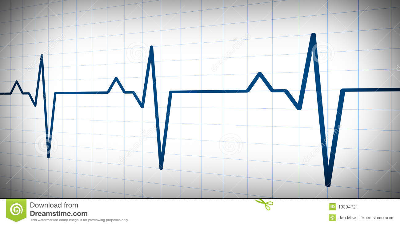 Audio Or Pulse Beat Wave Simple Graph Stock Illustration ... on