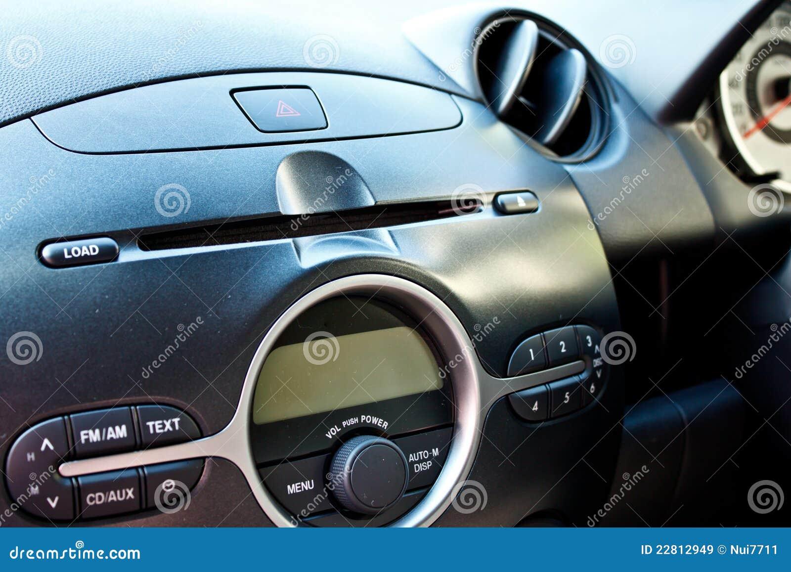Audio samochodowy pulpit operatora