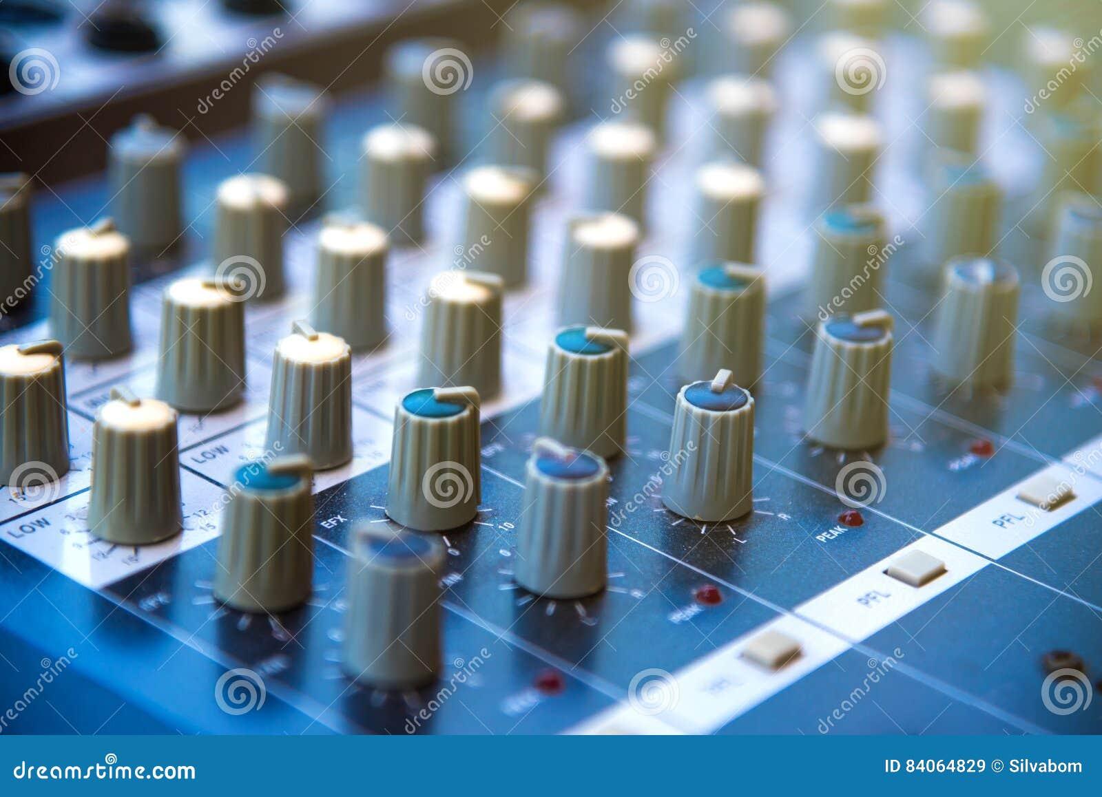 Audio Sound Mixer Khob Button Board Panellifier Equipment S Stock Image Amplifier Circuit Download Preview